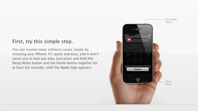 Click here to read Apple Asks You To Reset Your iPhone Before Hitting the Genius Bar