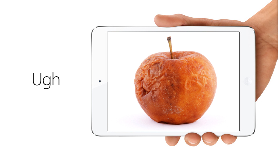Click here to read Is the iPad Mini the Beginning of Apple's Decline?