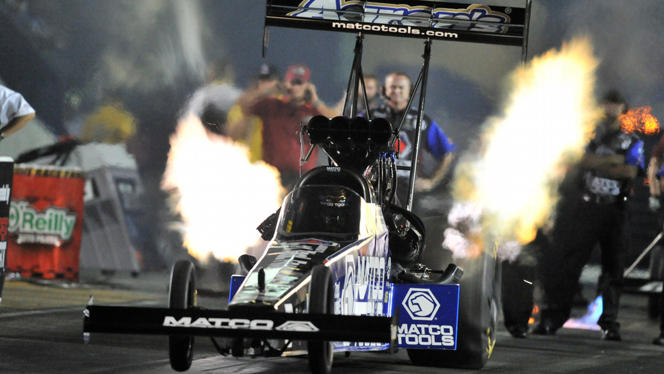 Antron Brown Started The Day On Fire And Ended It As The First African American Racing Champion