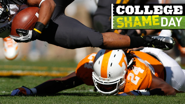 College ShameDay: Who Embarrassed Themselves On Saturday (Besides Sad, Sad Tennessee)?