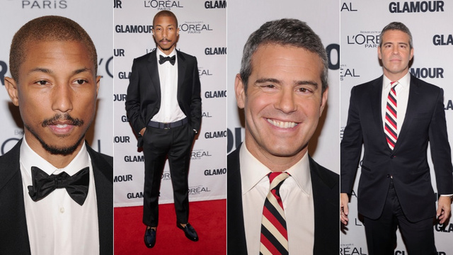 Celebs Don Long Sleeves and Pantyhose for Glamour's Women of the Year Awards