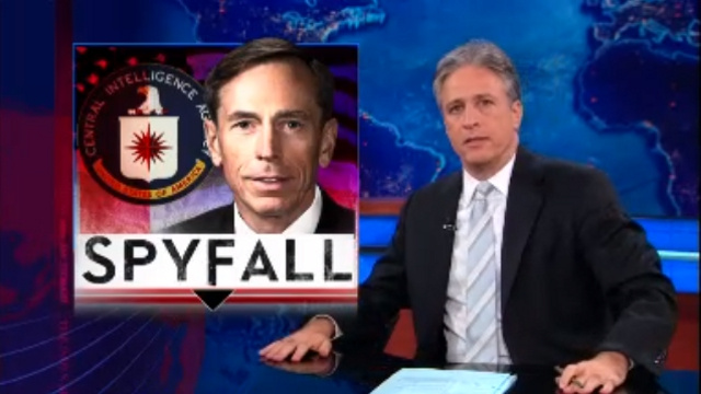 ICYMI: Jon Stewart on Neglecting to Pick Up on Petraeus Affair During Broadwell Interview: 'I Am the Worst Journalist in the World'