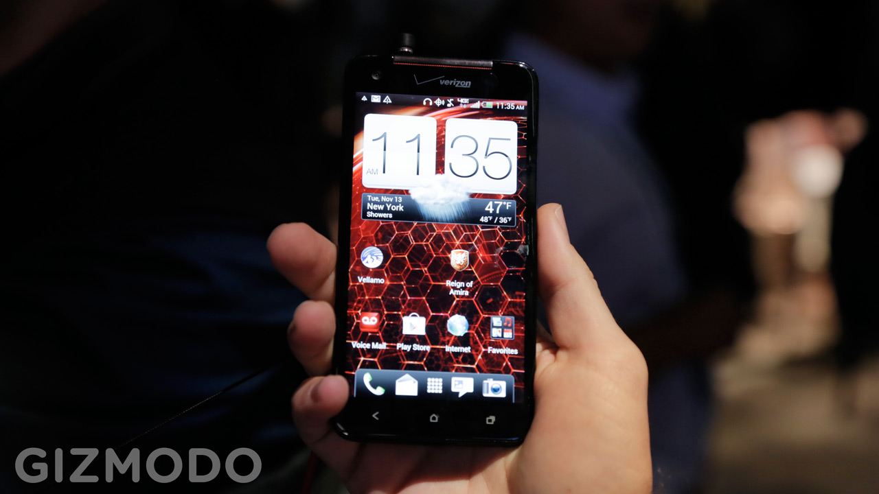 Click here to read HTC Droid DNA Hands On: This Thing Is Sick