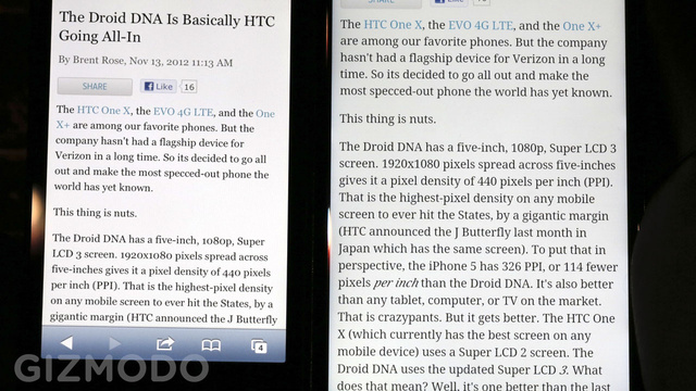 HTC Droid DNA Hands On: This Thing Is Sick