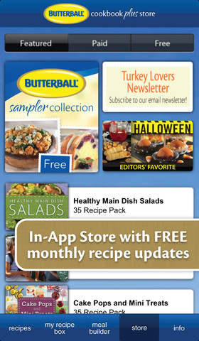 Butterball Cookbook Plus Gallery