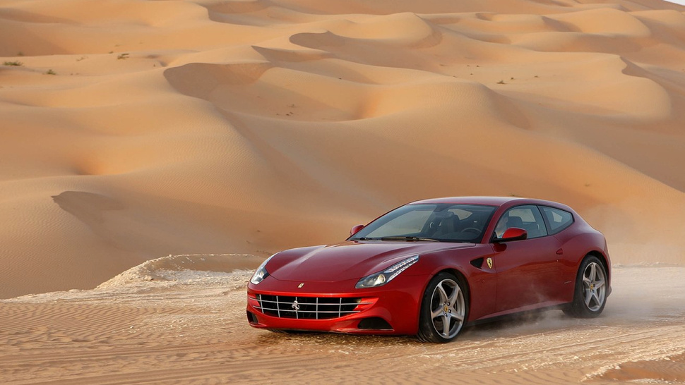 Would You Drive A Ferrari FF Up Pikes Peak?