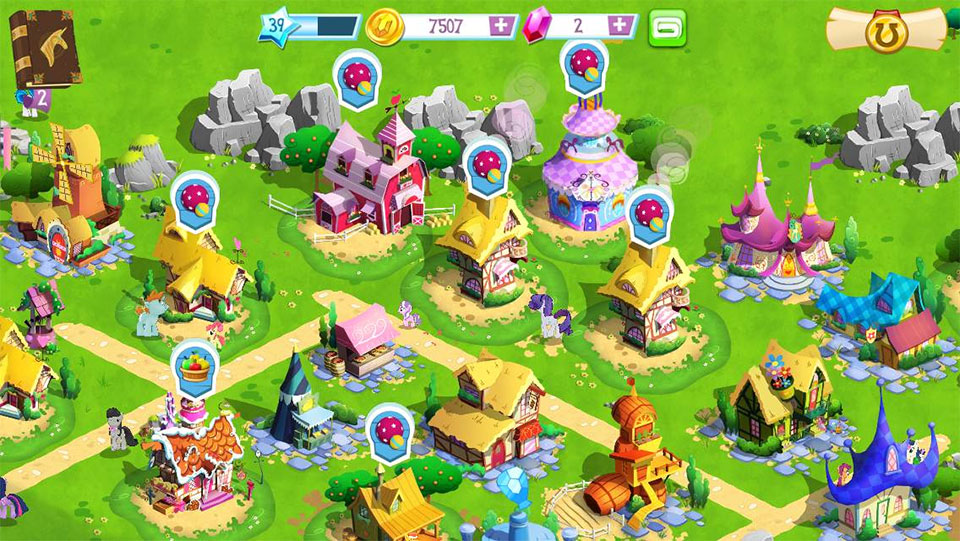Gameloft released the My Little Pony: Friendship is Magic game last ...