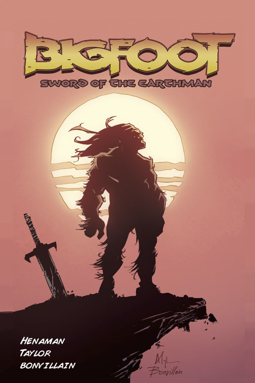 Click here to read Bigfoot with a Sword on Mars = Best Comic Book Premise This Month