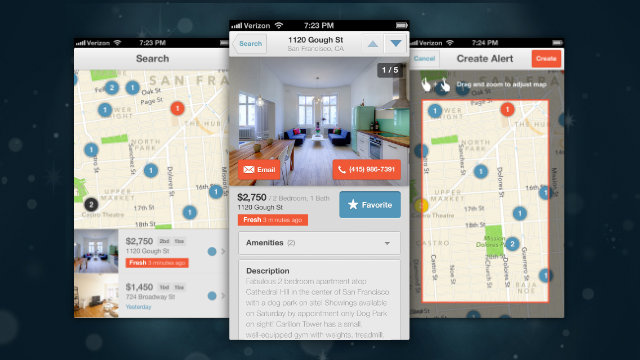 Lovely for iPhone Brings the Hunt for a Great Apartment With You Around Town