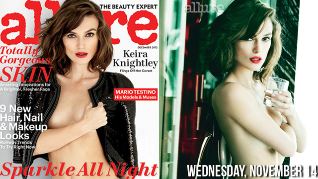 Keira Knightley's Breasts Discuss Anorexia, Feminism in Allure