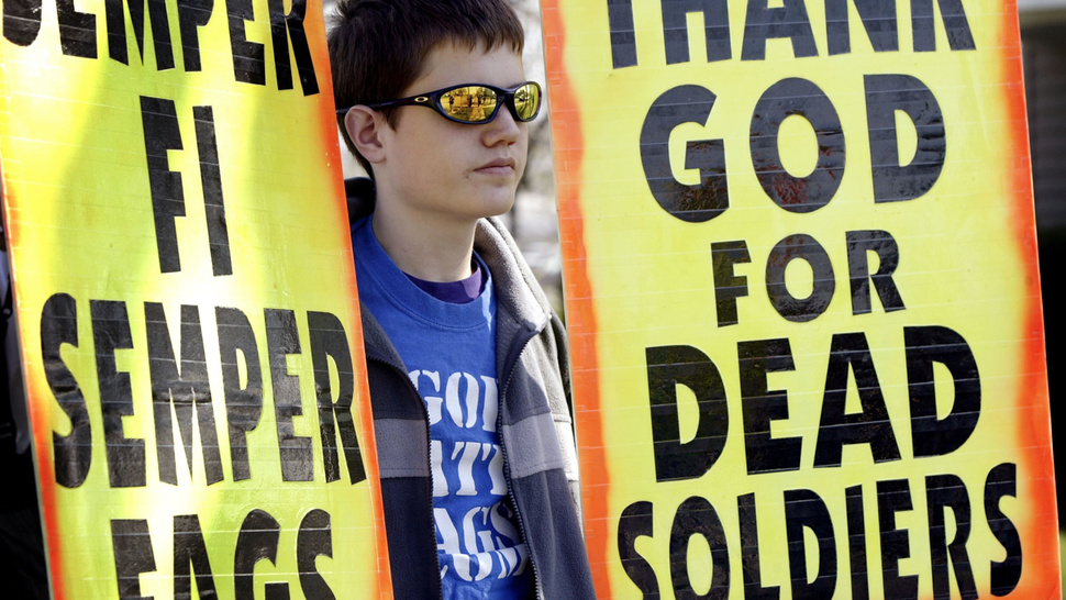 This Is The Westboro Baptist Church's Bizarro Reason For Protesting In Austin This Weekend