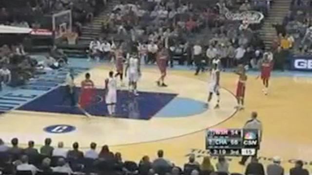 Jordan Crawford Tries To Shoot Jan Vesely's Free Throws In Hila…