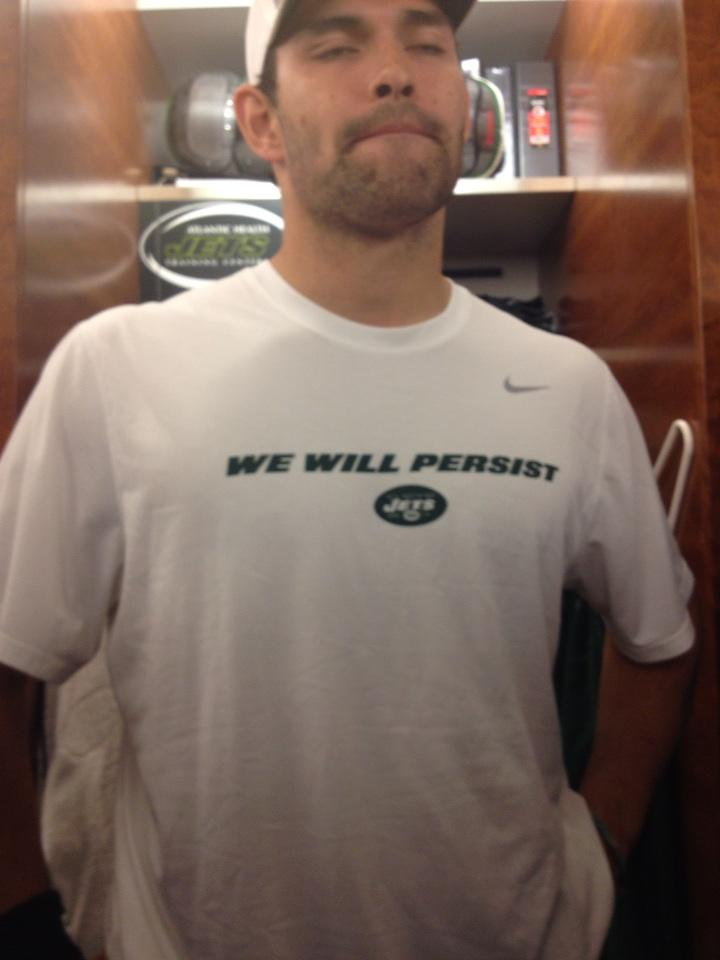 Mark Sanchez And The Jets Are Wearing Team Shirts That Say &quo…