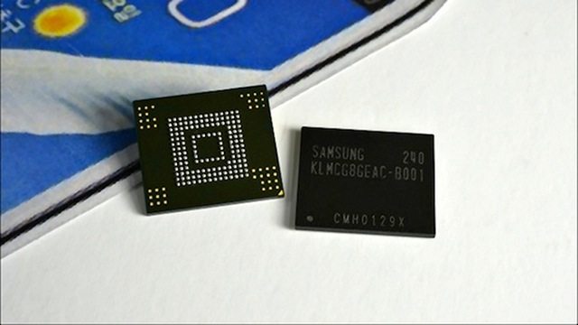 original Samsung reveals new, smaller chip for mobile phones
