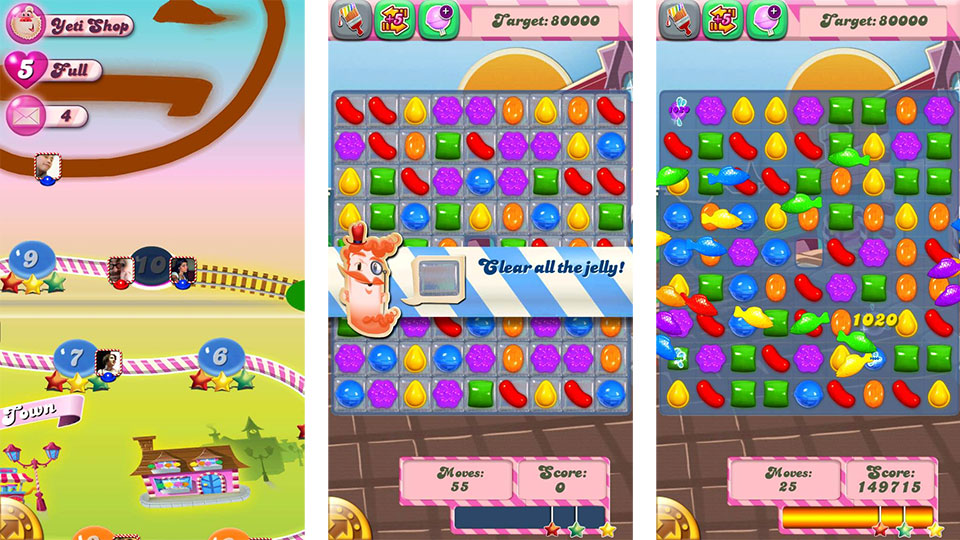 little gnashing of free time. Now it's Candy Crush Saga 's turn