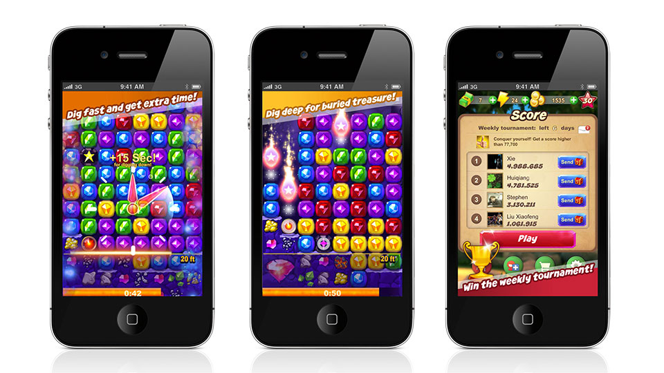 for popular facebook games to come to ios first king com s candy crush