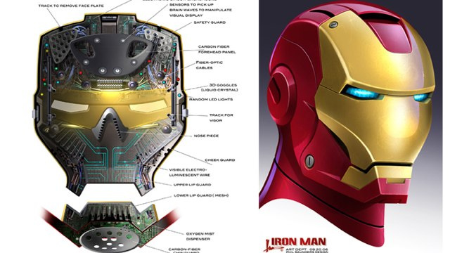 Iron Man concept art shows Tony Stark's gadgets that we never saw