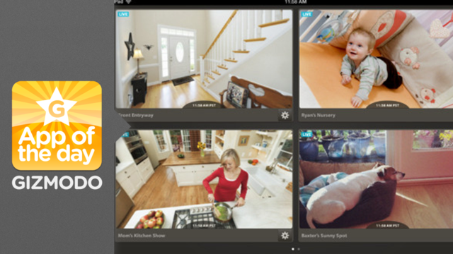 Dropcam: Watch Live Feeds of Anything for Hours and Hours