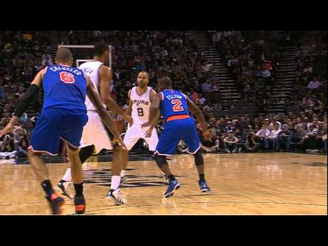 Tony Parker Crossover Leaves Raymond Felton Confused