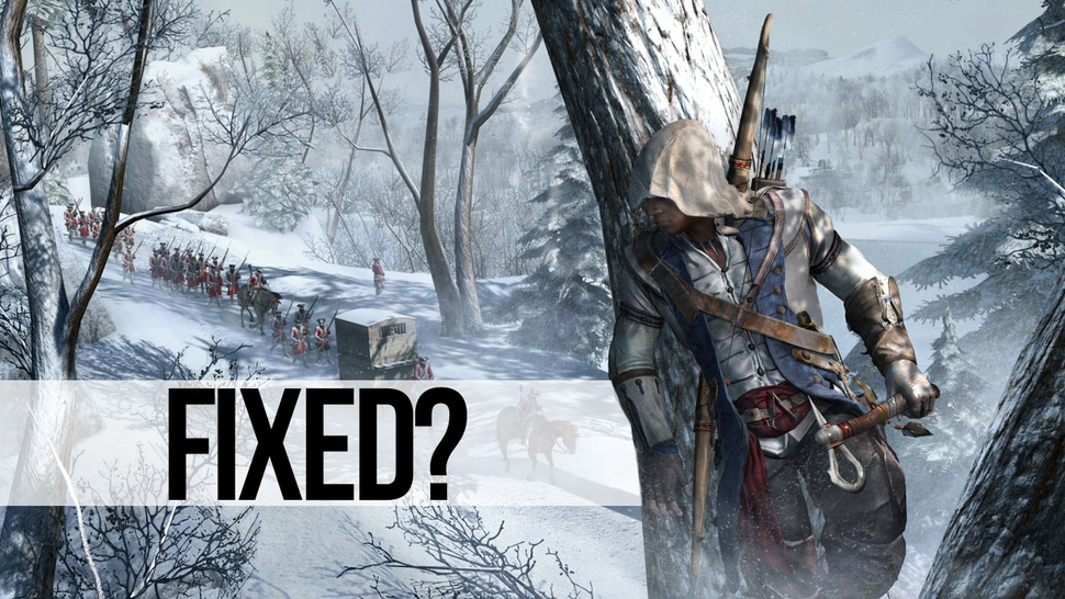 Massive <em>Assassin's Creed III</em> Patch Promises To Solve Many of the Game's Problems