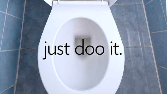 how to avoid pooping at work