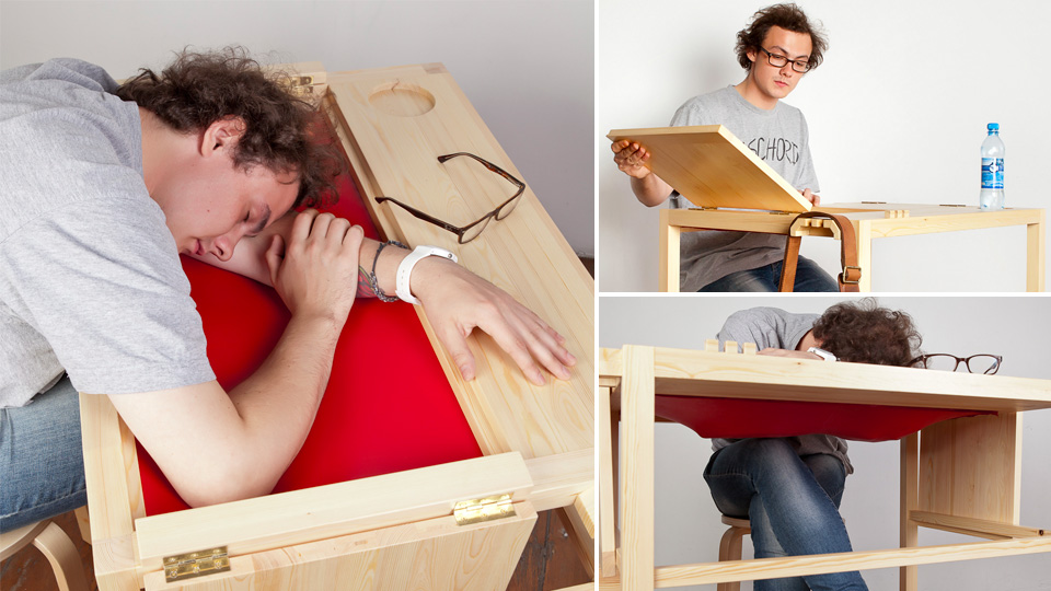 Click here to read Secret Sleeping Desks Should Be Installed in Every College Library