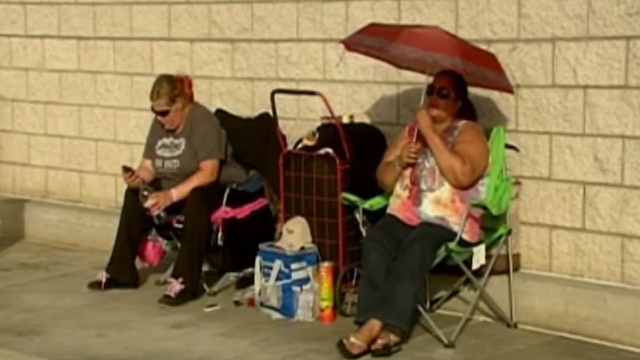 Click here to read Of Course People Are Already in Line for Black Friday