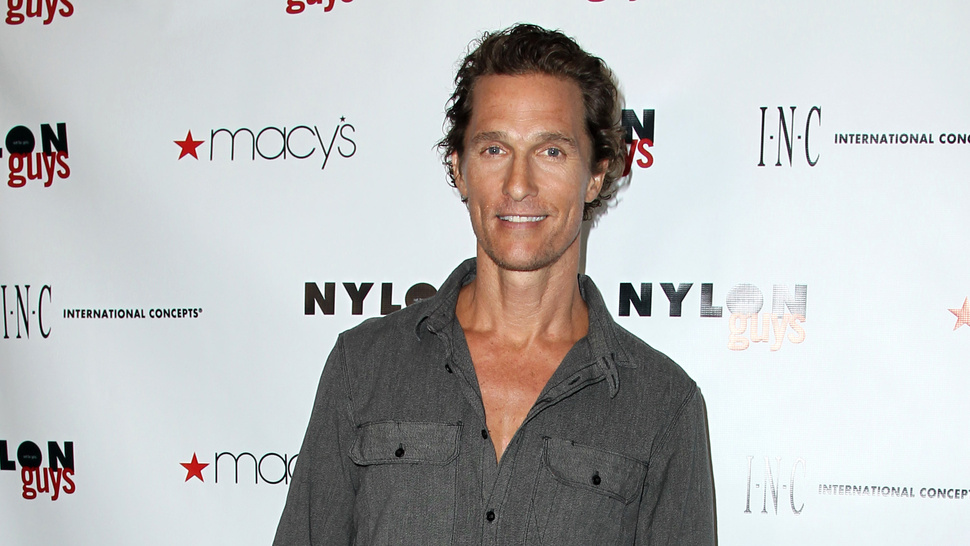Emaciated Matthew McConaughey Is Dreaming of a Very Specific Cheeseburger Feast