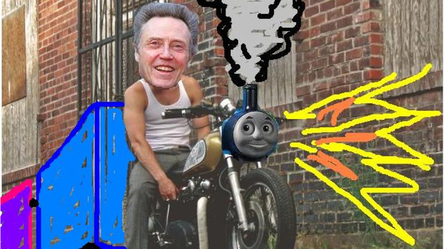 This Blacked Out, Train-Like Yamaha Craigslist Bike Will Make You Feel Like Christopher Walken