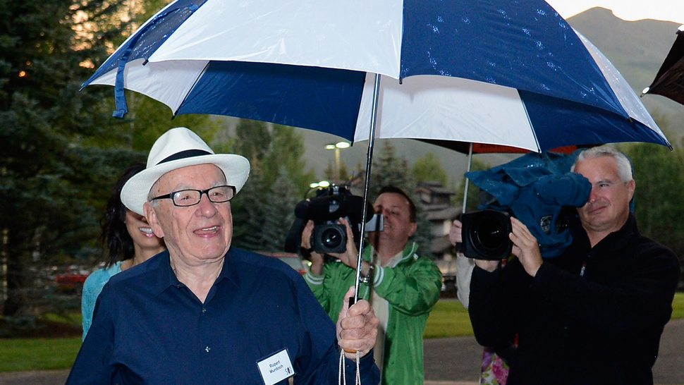 Rupert Murdoch Has a Question For the 'Jewish Owned Press'