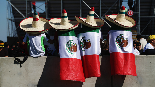 "In Austin, F1 Fans Swept Up In ""Checomania"" For Mexico's Sergio Perez"