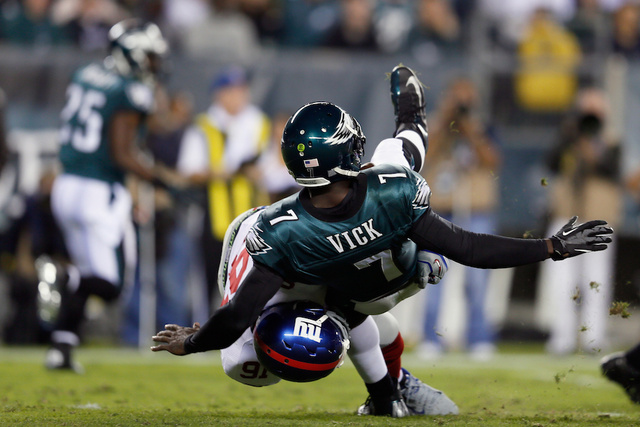 Michael Vick Still Can't Drive A Car Because Of Concussion Suffered Last Week