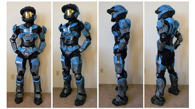 This Might Be The Most Incredible Suit Of Halo Armour Ever Created