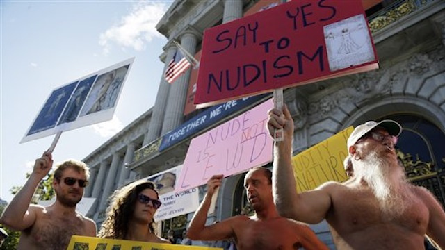 Man Named Wiener Trying to Ban Public Nudity in San Francisco