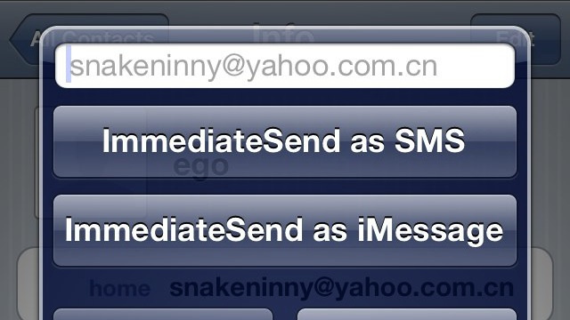 ImmediateSend Replies to Text Messages from Anywhere on the iPhone