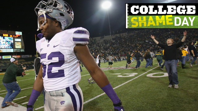 College ShameDay: Who Embarrassed Themselves On Saturday (Besides Kansas State, Of Course)?