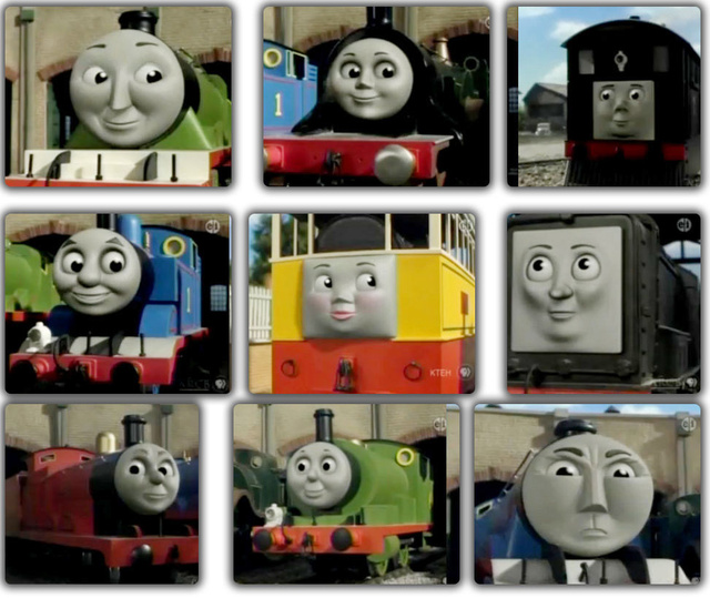 Thomas The Train Face Thomas Train And Friends Faces