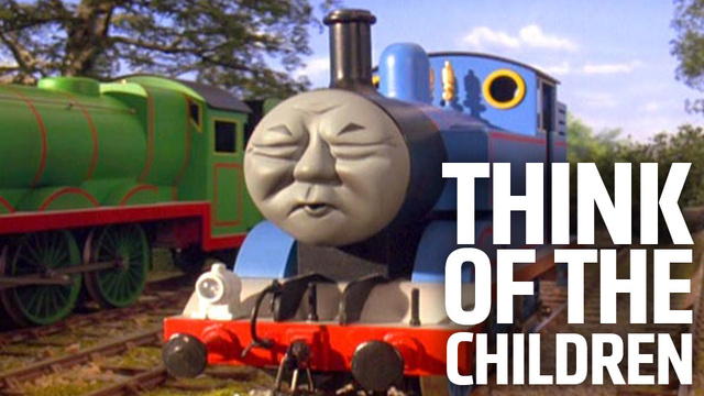 Thomas The Tank Engine Is Destroying All Cartoon Vehicles And Creeping Me The Hell Out