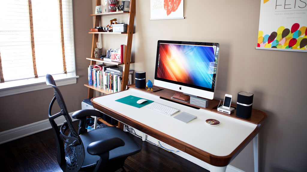 the fun combined bedroom home office lifehacker australia