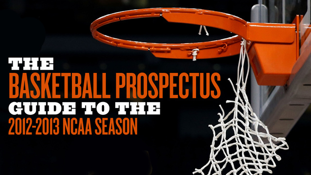 100 Thoughts About 100 NCAA Teams From The Basketball Prospectus Guide To The 2012-13 Season