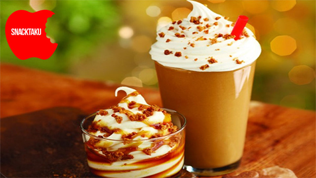 Burger King's Gingerbread Cookie Shake: The Angry Snacktaku Non-Review