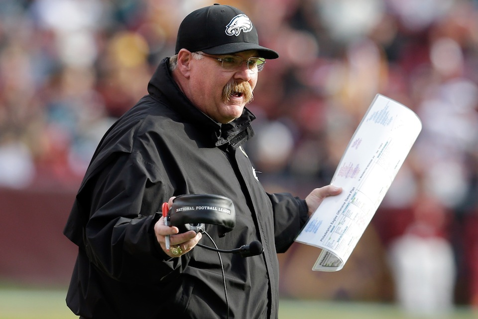 Philadelphia Gets Down To Brass Tacks, Just Asks Andy Reid If H…