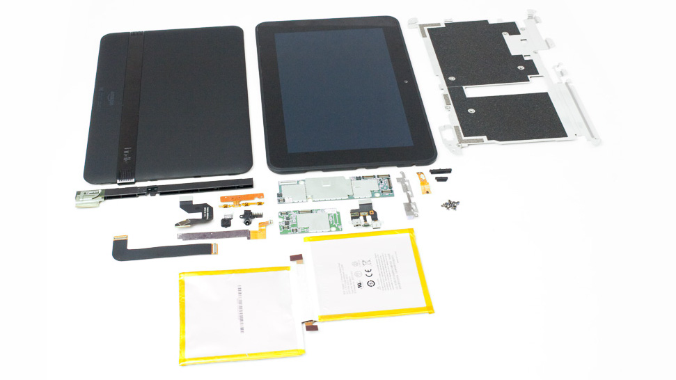 Click here to read Kindle Fire HD 8.9 Teardown: A Samsung Tablet By Another Name?