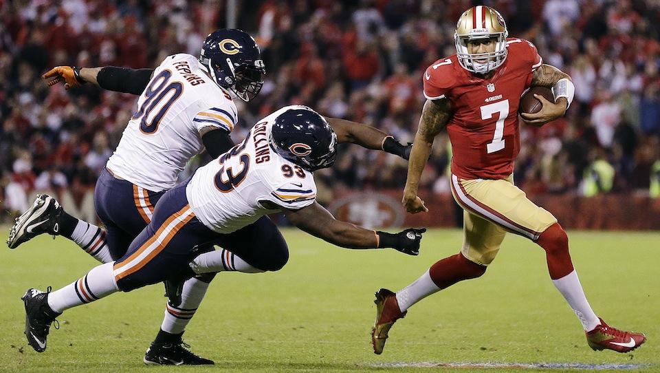 49ers Backup Colin Kaepernick Opened Up The Playbook And Shot D…