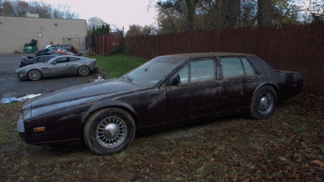 These Poor Aston Martins Were Ruined By Hurricane Sandy