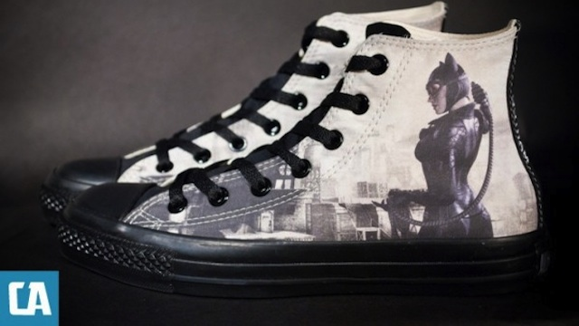 Click here to read Kick Criminal Butt With These Custom <em>Arkham City</em> Sneaks