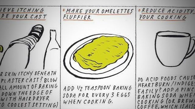 Make a Fluffier Omelet with a Pinch of Baking Soda