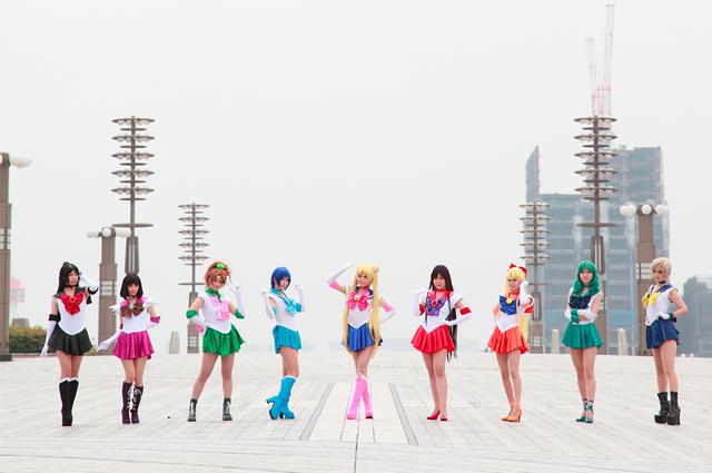 The Tough Women (and Bearded Lady) of Sailor Moon