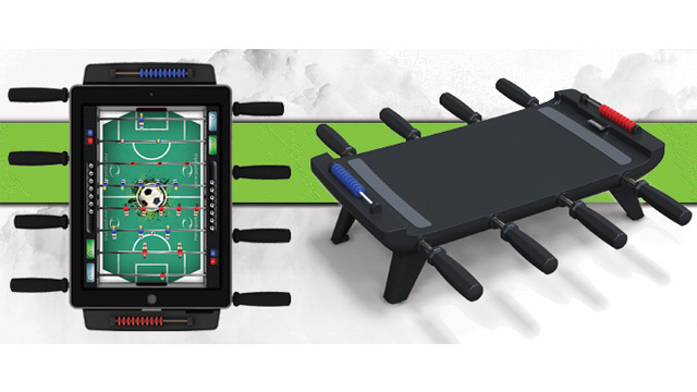 Turn Your iPad Into the Foosball Table You Never Had Room For