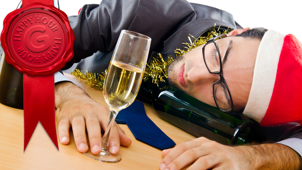 How To Increase Your Drinking Tolerance (So You Don't Make an Ass of Yourself at a Holiday Party)